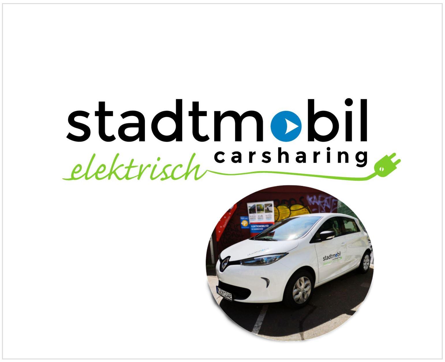 Elektromobilität mit stadtmobil Hannover
