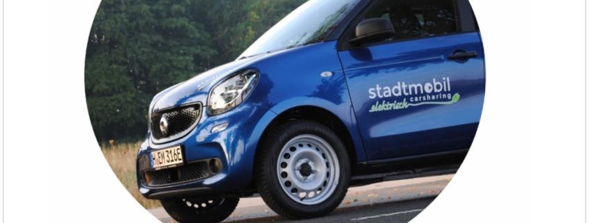 Elektromobilität geht jetzt auch mit stadtmobil