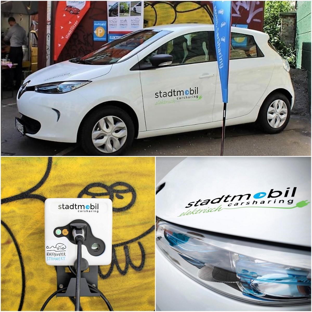 stadtmobil hannover carsharing elektromobilität fröbelstraße