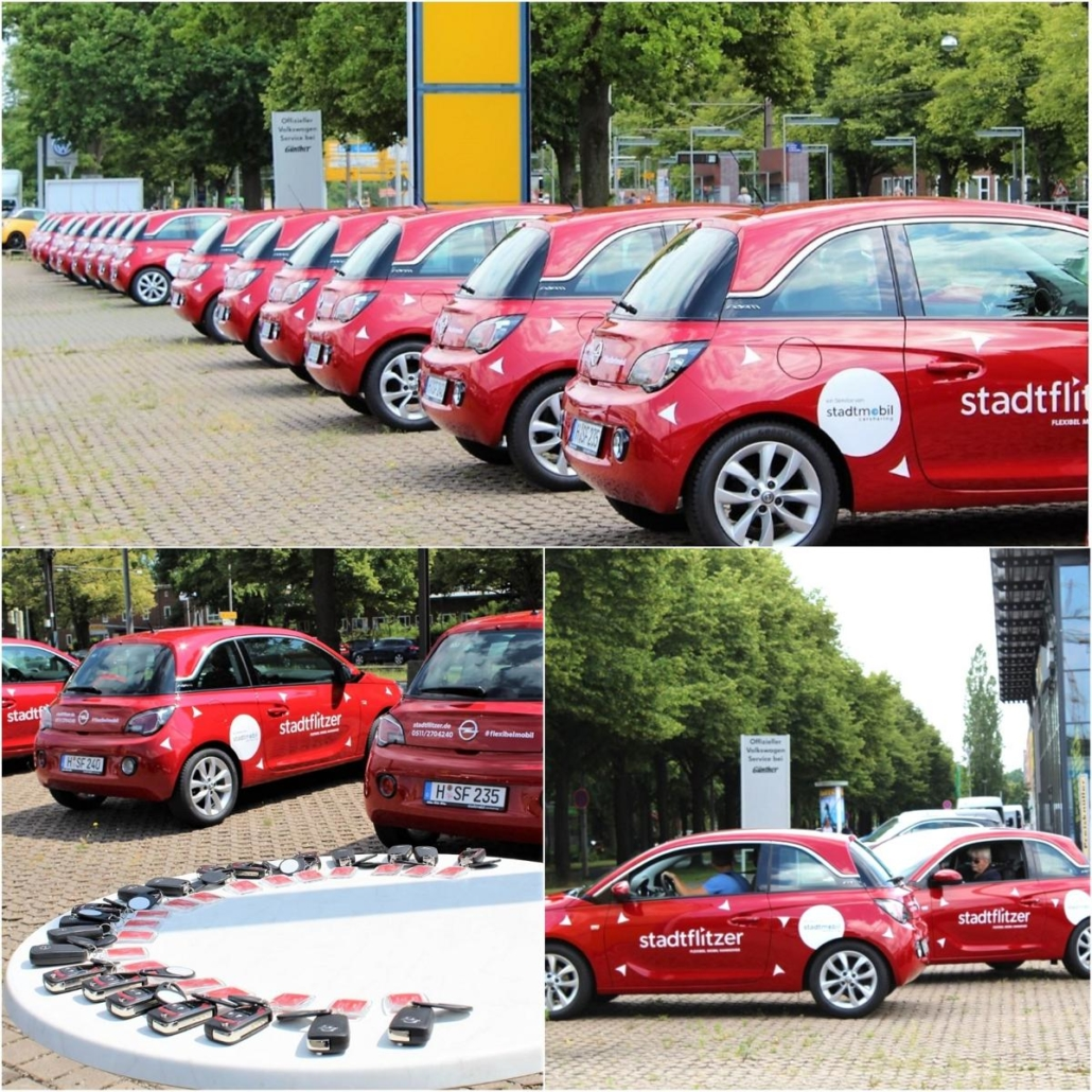 Hannover hat 100 neue stadtflitzer