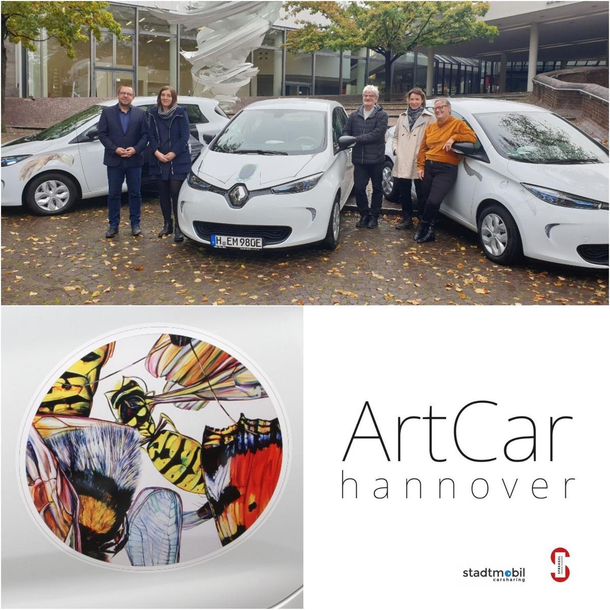 Art Car und stadtmobil - Kooperation
