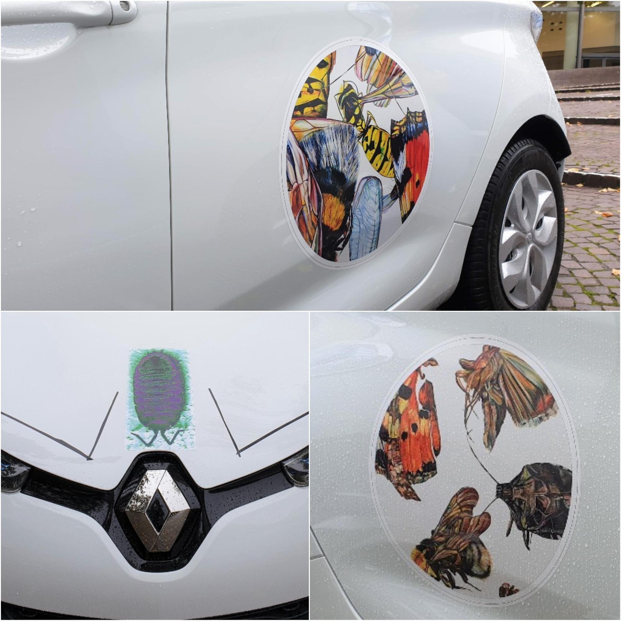 stadtmobil hannover art car julia Schmidt Picknick mit Tier C1