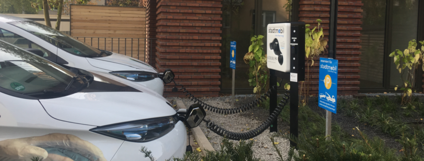 stadtmobil hannover carsharing Elektrostellplatz ArtCars FB