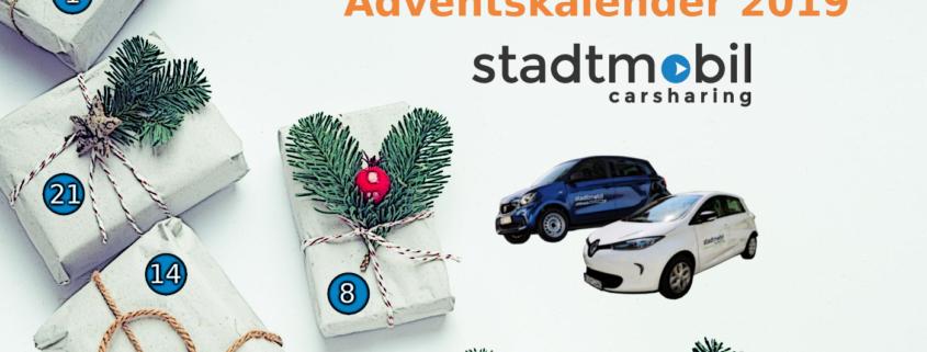 Adventskalender 2019 bei stadtmobil