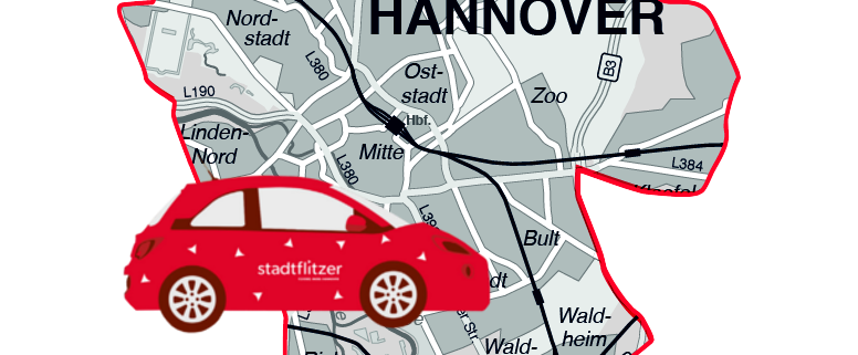 stadtmobil hannover carsharing stadtflitzer kernzone