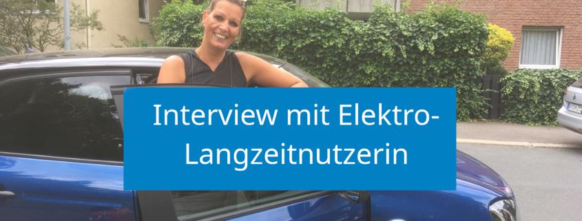 Interview mit Elektro-Nutzerin