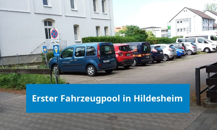 Stadtmobils erster Fahrzeugpool in Hildesheim