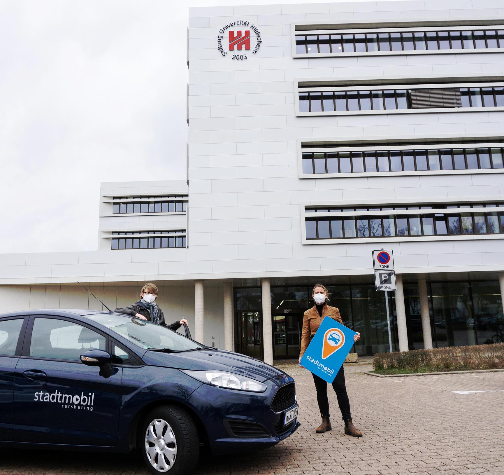 stadtmobil Kooperation mit der Universität Hildesheim