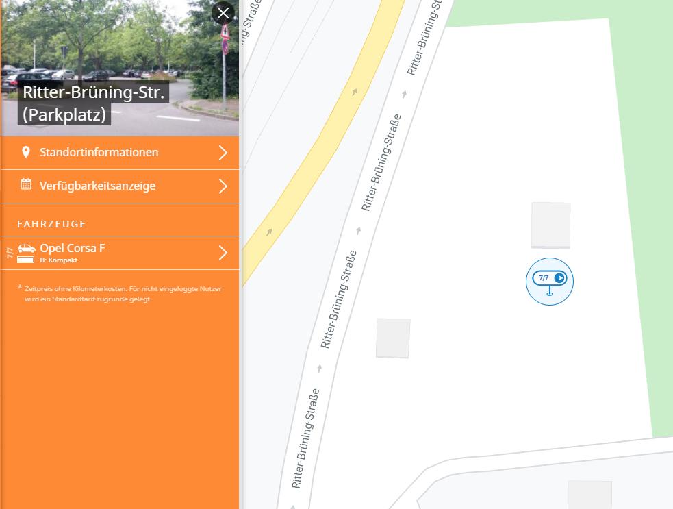 neuer Pool in Linden Süd - für stadtmobil